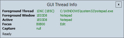 GUIInfo Screenshot